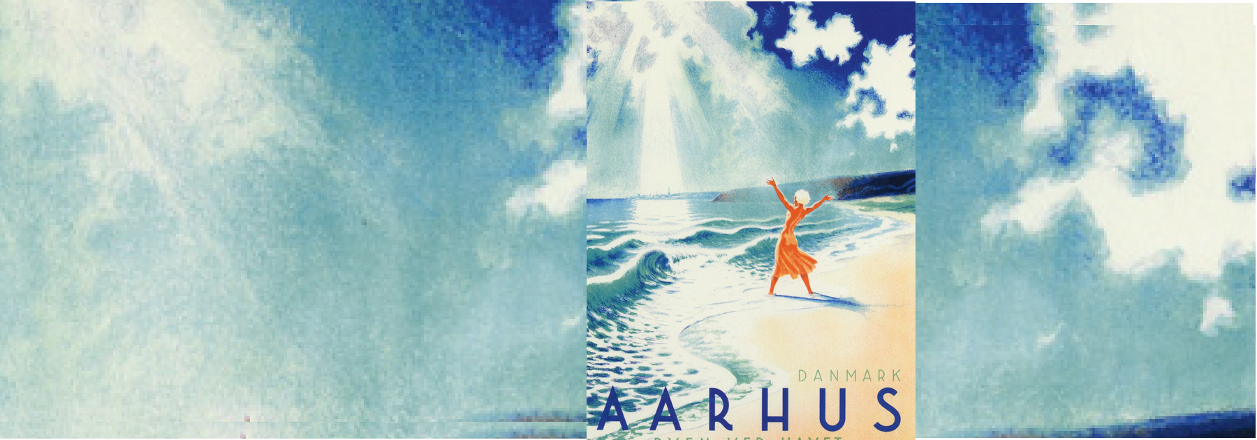 Aarhus pigen ved havet