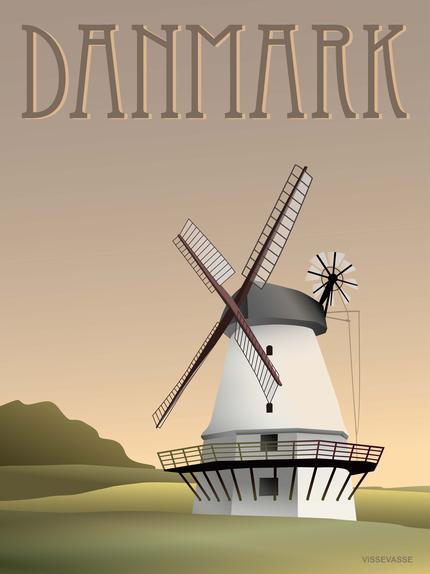 Danmark - møllen - vissevasse