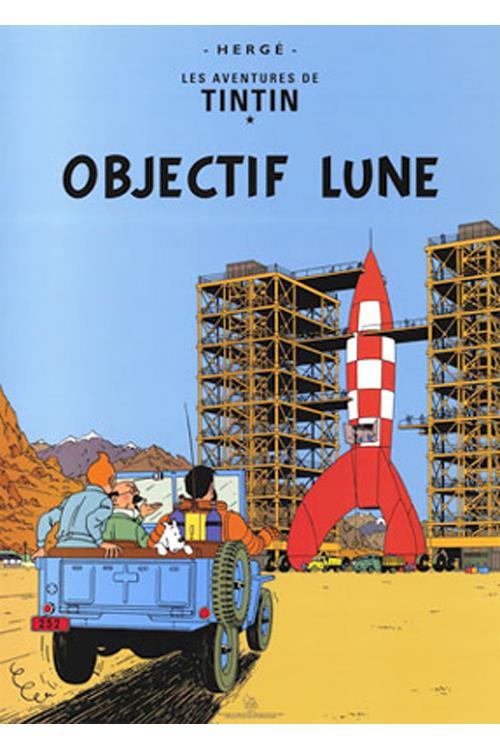 Maanen tur retur Tintin