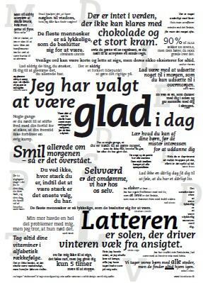 citat plakat smil Citat plakat – Glad | Plakaten   Aarhus citat plakat smil