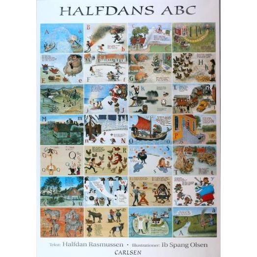 Halfdan Rasmussen Halfdans ABC