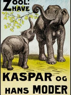 Zoologisk have - Kaspar og hans moder - elefanter