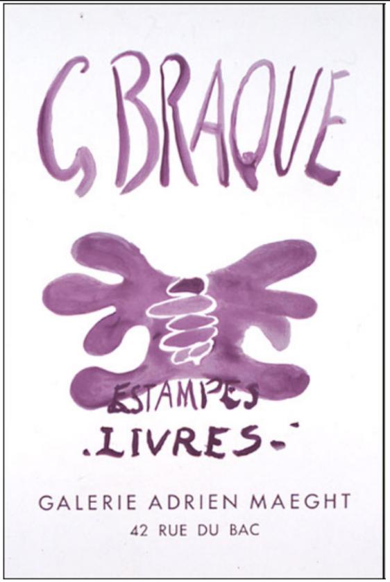 George Braque Estampes Livres