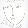 Henri Matisse - La Pompadour