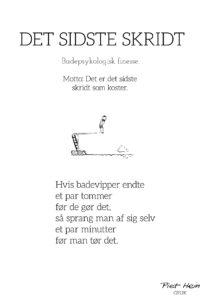 Piet Hein Det sidste Skridt