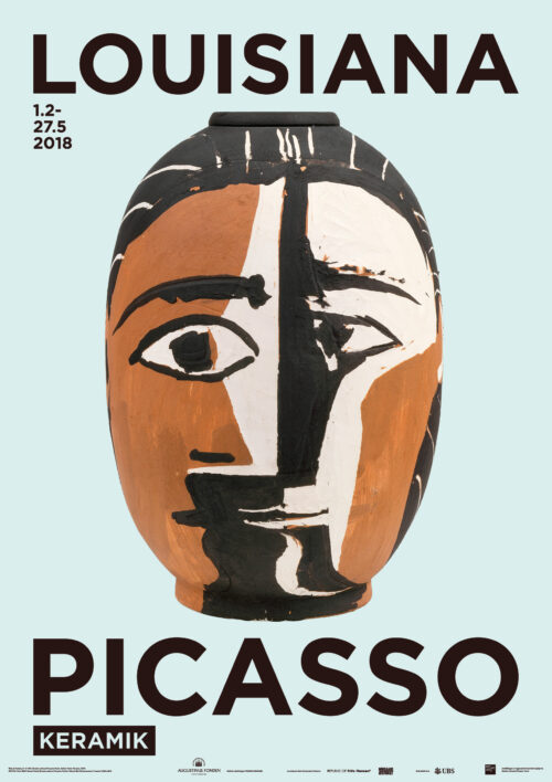 Pablo Picasso - Kvindehoved - Lousiana Museum of Modern Art