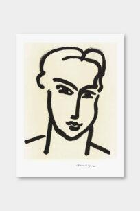 Henri Matisse Grande tete de Katia