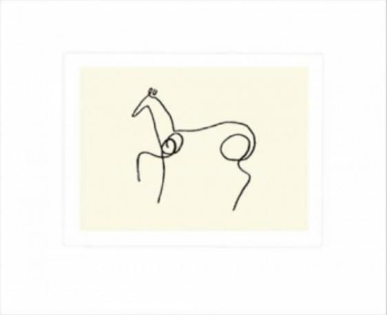 Pablo Picasso - Le Cheval - Hesten