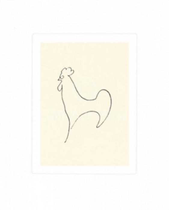 Pablo Picasso Le Coq-Detail - Hanen