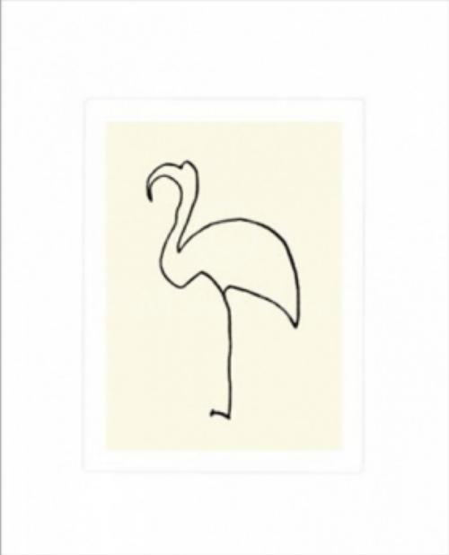 Pablo Picasso - La Flamand Rose - den rosa flamingo