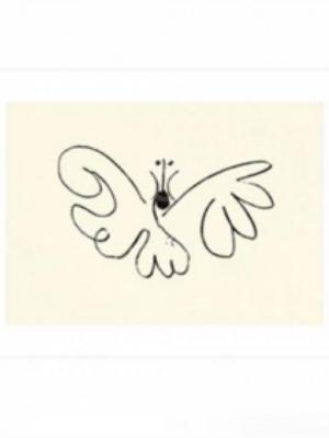 Pablo Picasso - Le Papillon - Sommerfuglen