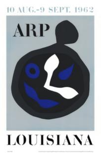 Jean Arp - Louisiana - 1962