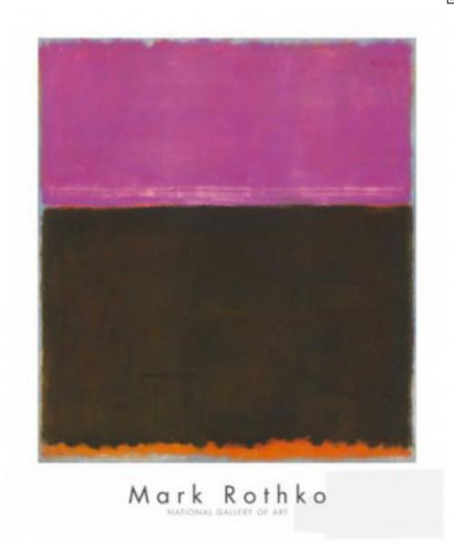 Mark Rothko - Uden titel - lila - brun