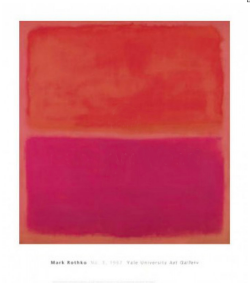 Mark Rothko - red - rosa