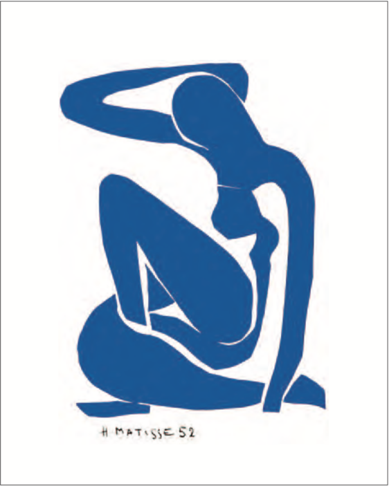 Henri Matisse Nu bleu 1