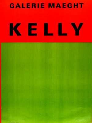 Ellsworth Kelly Orange et vert gellerie maegt 1954