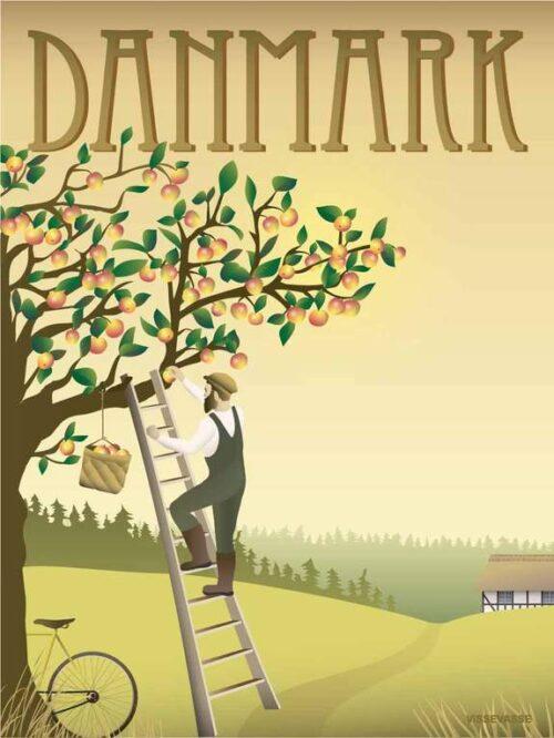 Danmark - æbletræet