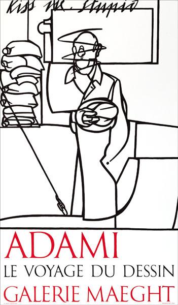 ADAMI Valerio - Le Voyage du dessin