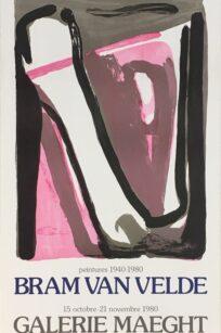 Bram van Velde Peintures 1940-1980