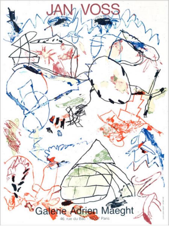 Jan Voss Sans Titre - Gallerie Maeght 1982
