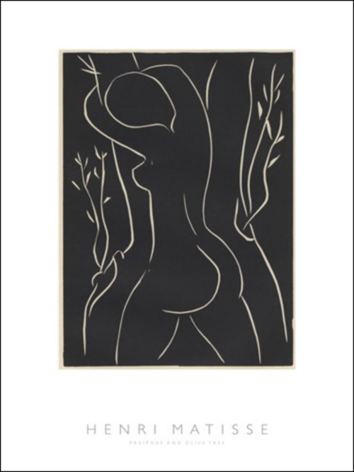 Henri Matissse - Pasiphae and Olive Tree