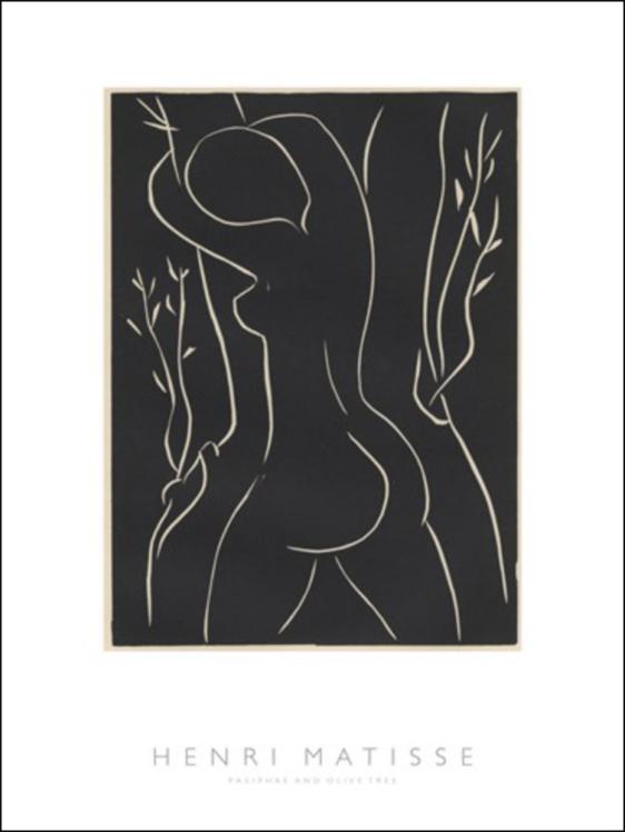 Henri Matissse - Pasiphae and Olive Tree