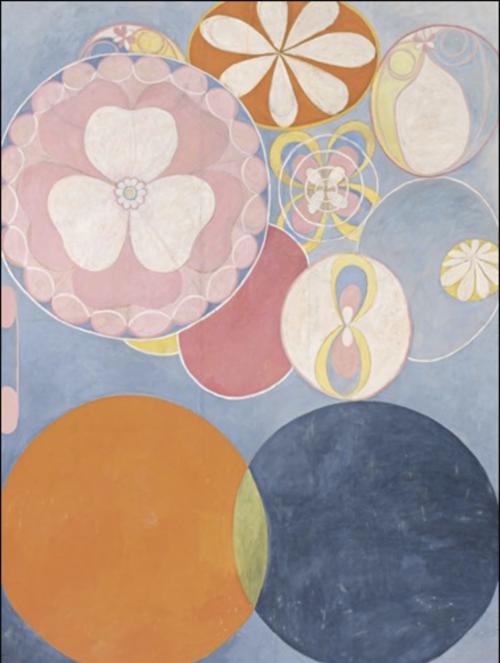 Hilma af Klint - Childhood, The Ten Largest, No.2, Group IV, 1907