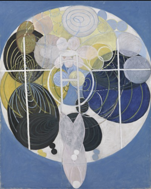 Hilma af Klint - The Large Figure Paintings, No.5, Group III, 1907