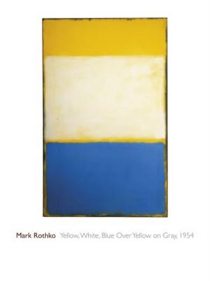 Mark Rothko - Yellow, White, Blue Over Yellow on Gray, 1954
