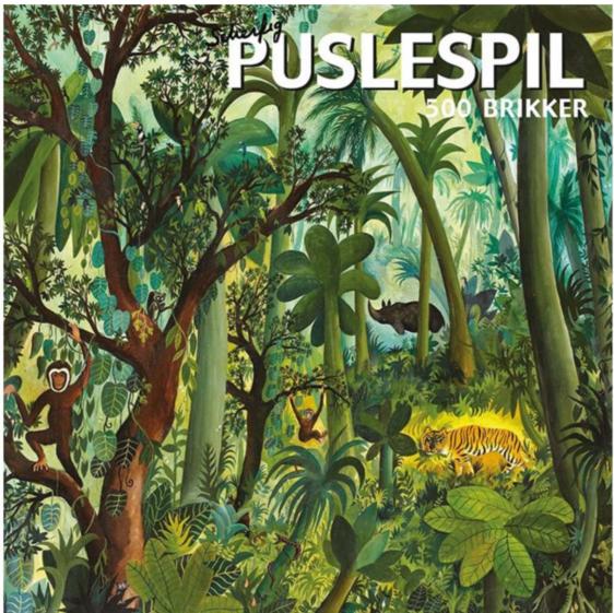 Hans Scherfig - Puslespil - Jungle