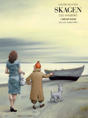 Tintin - Skagen - Ole Ahlberg - gallerie wolfsen
