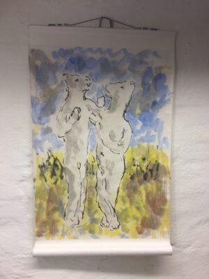 Original kunst Pontus Kjerrman – Uden Titel