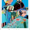 Plakaten Aarhus: Plakat af Leif Sylvesster: En underlig Fest