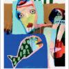 Plakaten Aarhus - Plakat af Leif Sylvester: Venlig Piratfisk