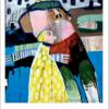 Plakaten Aarhus - Plakat af Leif Sylvester: Princessen holder fri