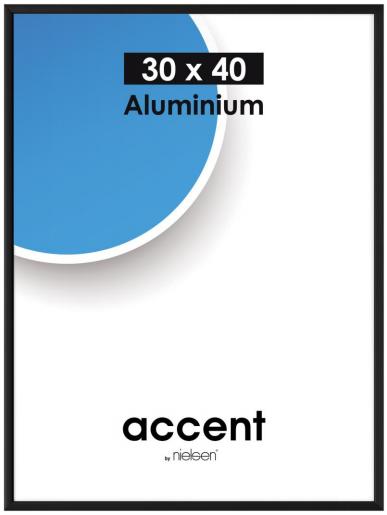 Plakaten Aarhus: skifteramme i sort aluminium