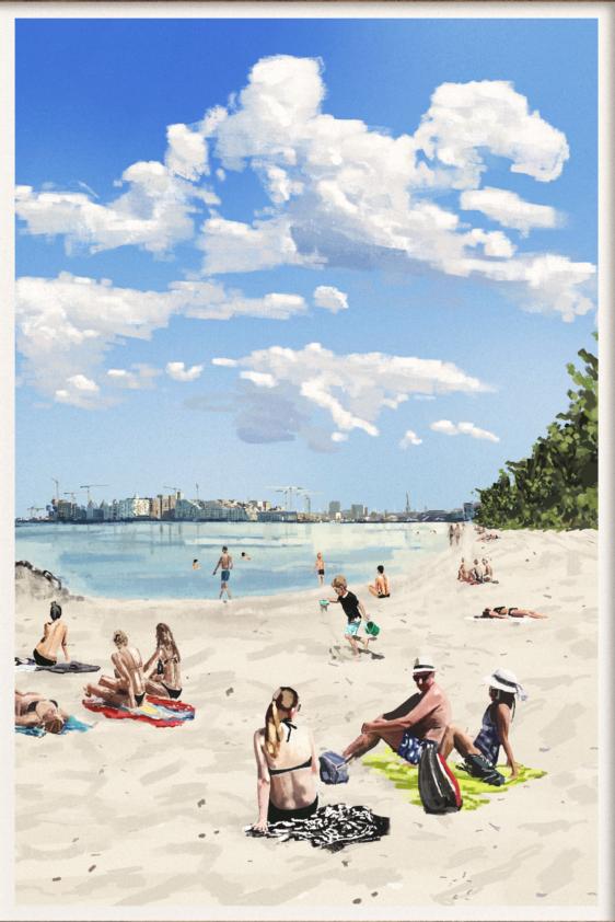Plakaten Aarhus - Stedkendt: Den Permanente: