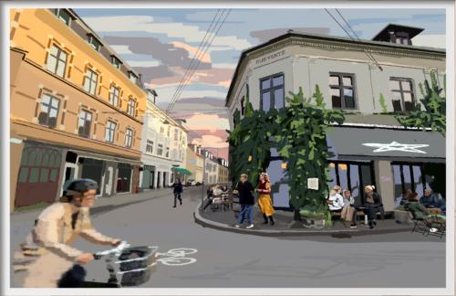 Plakaten Aarhus - Stedkendt: Graven