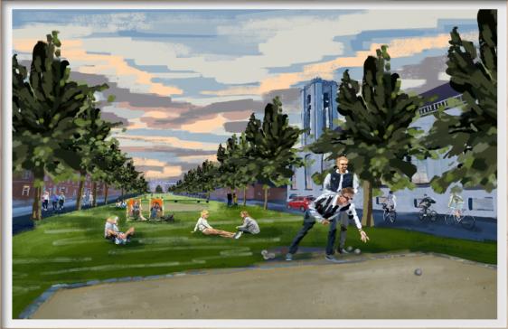 Plakaten - Aarhus Stedkendt: Ingerslev Boulevard