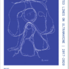 Weiss Andersen - Inverted lines on ultramarine